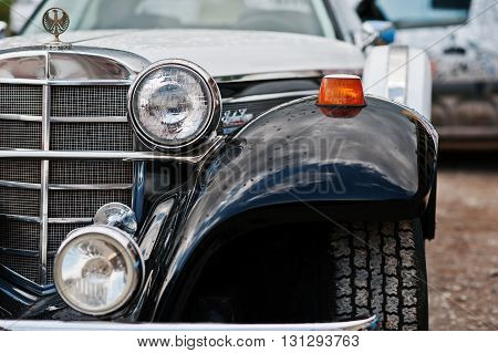 Podol, Ukraine - May 19, 2016: Phillips Berlina Coupe, Old Vintage Neo Classic Car, Built In Pompano
