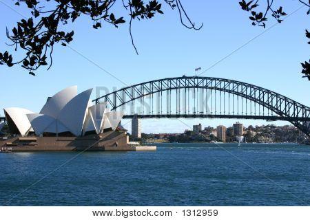 Sydney an einem sonnigen Tag