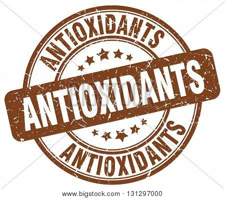 antioxidants brown grunge round vintage rubber stamp.antioxidants stamp.antioxidants round stamp.antioxidants grunge stamp.antioxidants.antioxidants vintage stamp.