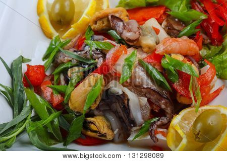 Seafood Mix Salad