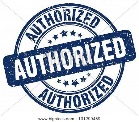 authorized blue grunge round vintage rubber stamp.authorized stamp.authorized round stamp.authorized grunge stamp.authorized.authorized vintage stamp.