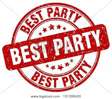 best party red grunge round vintage rubber stamp.best party stamp.best party round stamp.best party grunge stamp.best party.best party vintage stamp.