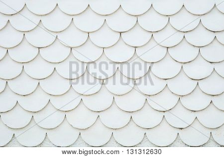 Closeup old white cement wall texture background