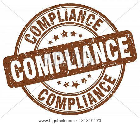 compliance brown grunge round vintage rubber stamp.compliance stamp.compliance round stamp.compliance grunge stamp.compliance.compliance vintage stamp.