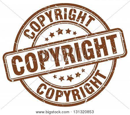 copyright brown grunge round vintage rubber stamp.copyright stamp.copyright round stamp.copyright grunge stamp.copyright.copyright vintage stamp.