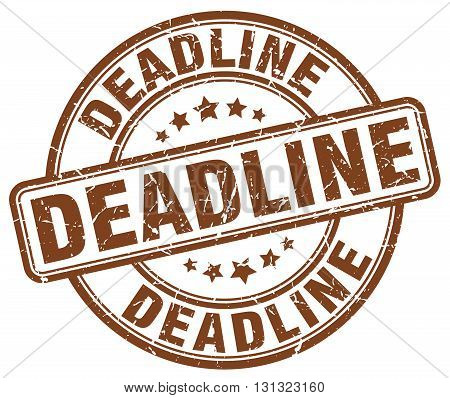 deadline brown grunge round vintage rubber stamp.deadline stamp.deadline round stamp.deadline grunge stamp.deadline.deadline vintage stamp.