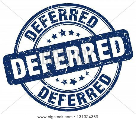 deferred blue grunge round vintage rubber stamp.deferred stamp.deferred round stamp.deferred grunge stamp.deferred.deferred vintage stamp.