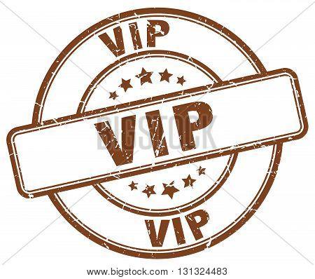 Vip Brown Grunge Round Vintage Rubber Stamp.vip Stamp.vip Round Stamp.vip Grunge Stamp.vip.vip Vinta