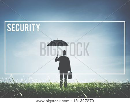Security Safe Protection Guard Lock Concept