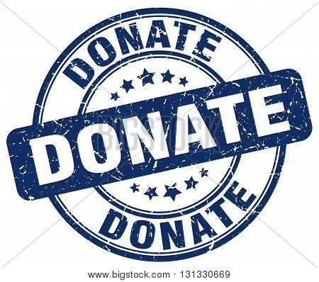 donate blue grunge round vintage rubber stamp.donate stamp.donate round stamp.donate grunge stamp.donate.donate vintage stamp.
