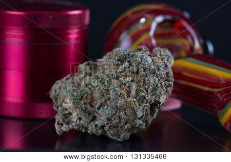 This is a popular strain known for its balance of an active sativa buzz and the high yields of plants due to its indica side.