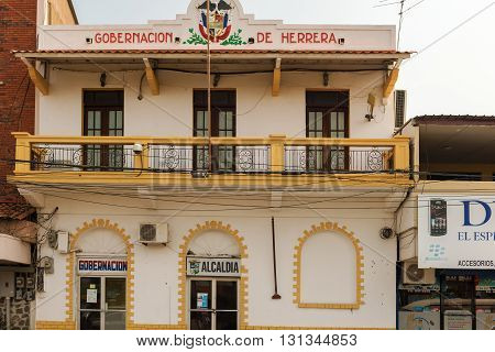 Government Building In Chitre, Panama