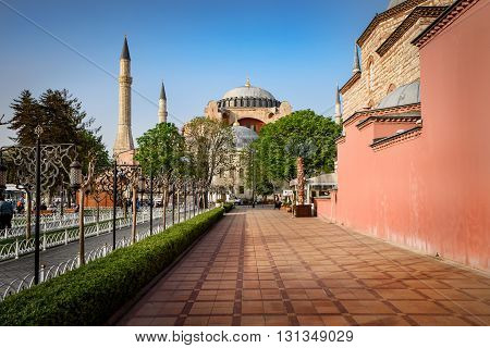 Hagia Sophia is a great architectural beauty and an important monument both for Byzantine and for Ottoman Empires in Istanbul Turkey