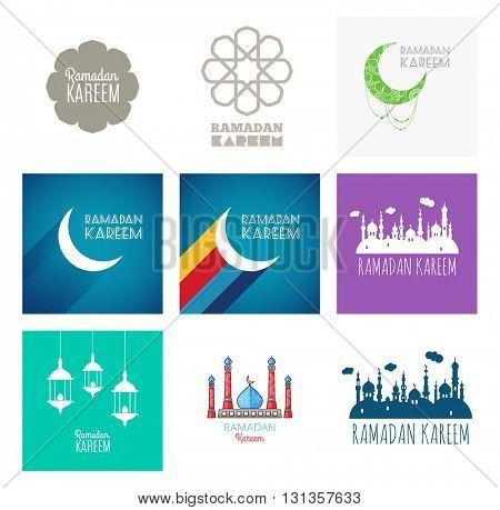 Ramadan Kareem, greeting card