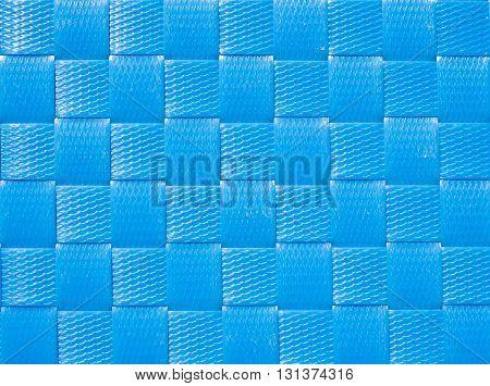 Weave plastic wicker pattern for background and texture.