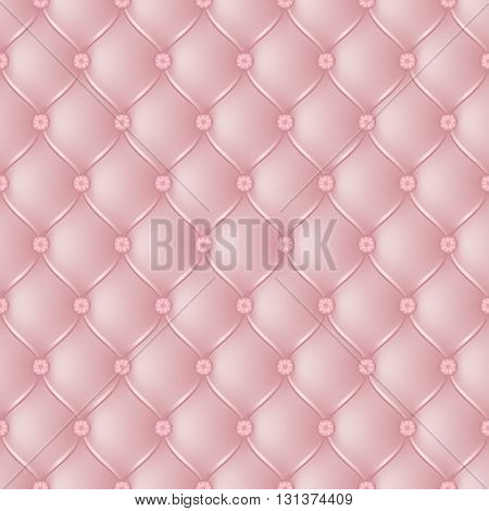 Vector abstract upholstery light pink background. Can be used in cover design book design website background CD cover advertising.