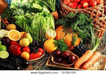 Fresh Vegetables, Fruits and other foodstuffs. Huge collection