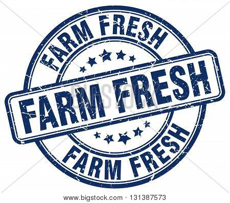 farm fresh blue grunge round vintage rubber stamp.farm fresh stamp.farm fresh round stamp.farm fresh grunge stamp.farm fresh.farm fresh vintage stamp.