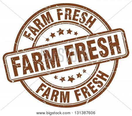 farm fresh brown grunge round vintage rubber stamp.farm fresh stamp.farm fresh round stamp.farm fresh grunge stamp.farm fresh.farm fresh vintage stamp.
