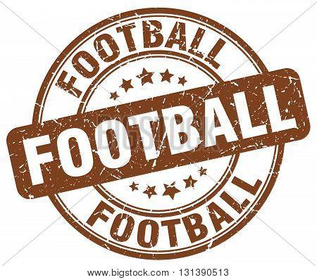 football brown grunge round vintage rubber stamp.football stamp.football round stamp.football grunge stamp.football.football vintage stamp.