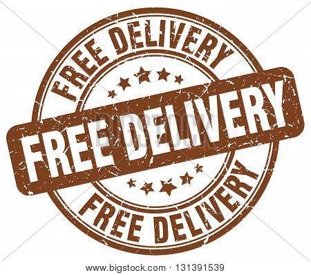 free delivery brown grunge round vintage rubber stamp.free delivery stamp.free delivery round stamp.free delivery grunge stamp.free delivery.free delivery vintage stamp.