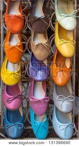 Handmade Italian Shoes In Various Colors