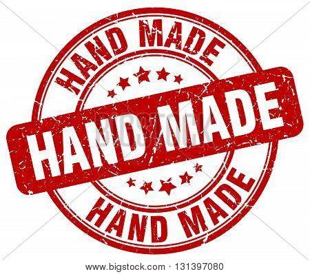 hand made red grunge round vintage rubber stamp.hand made stamp.hand made round stamp.hand made grunge stamp.hand made.hand made vintage stamp.