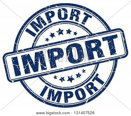 import blue grunge round vintage rubber stamp.import stamp.import round stamp.import grunge stamp.import.import vintage stamp.