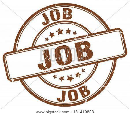 job brown grunge round vintage rubber stamp.job stamp.job round stamp.job grunge stamp.job.job vintage stamp.