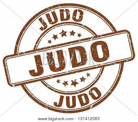 judo brown grunge round vintage rubber stamp.judo stamp.judo round stamp.judo grunge stamp.judo.judo vintage stamp.
