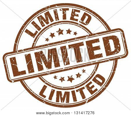 limited brown grunge round vintage rubber stamp.limited stamp.limited round stamp.limited grunge stamp.limited.limited vintage stamp.