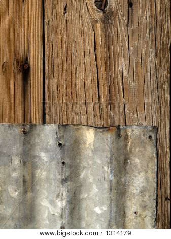 Tin And Wood