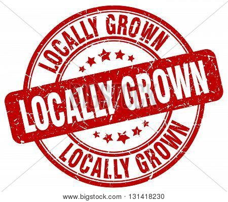 locally grown red grunge round vintage rubber stamp.locally grown stamp.locally grown round stamp.locally grown grunge stamp.locally grown.locally grown vintage stamp.