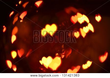 Love Abstract Blur Background