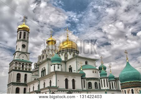The New Jerusalem monastery in Istra Russia.