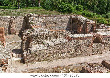 Ruins of The Thermal Baths of Diocletianopolis, town of Hisarya, Plovdiv Region, Bulgaria