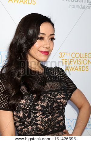 LOS ANGELES - MAY 25:  Aimee Garcia at the 37th College Television Awards at Skirball Cultural Center on May 25, 2016 in Los Angeles, CA