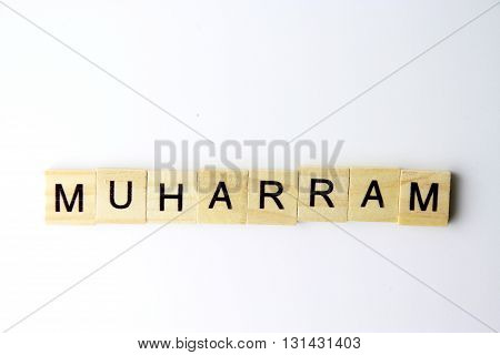 muharram named of month in islamic calendar