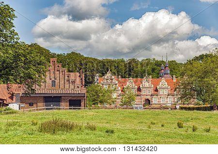 Vrams Gunnarstorp Slott situated in the Skane region of Sweden.