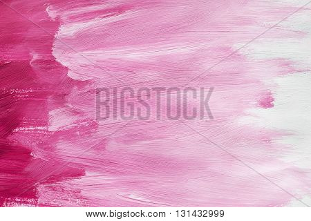 Abstract pink shades painting as a background