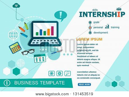 Internship Concepts Of Words Learning And Training.