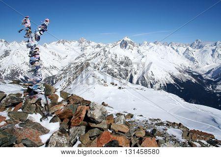 Travel In the mountains of Dombai Caucasus