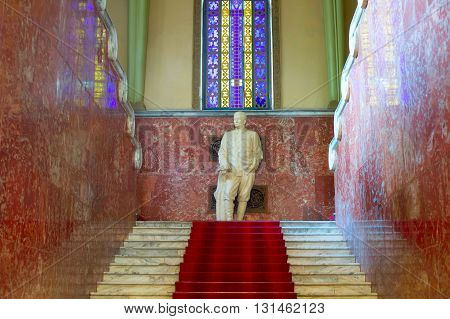 Stalin Monument In Gori Museum