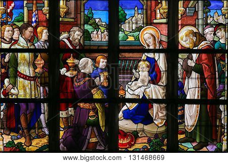Stained Glass - Epiphany