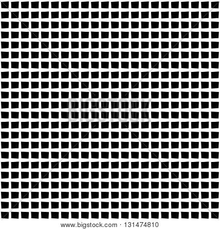 Irregular Grid, Mesh Pattern With Irregular Lines. Seamlessly Repeatable.