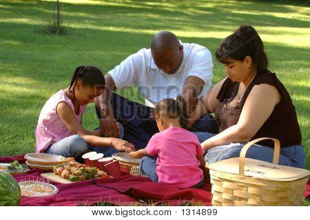 Giving Thanks For A Picnic