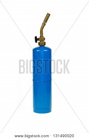 A Propane torch on a white background.