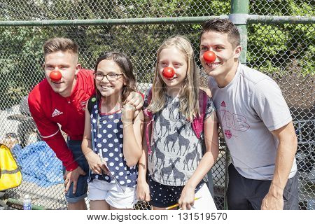 Red Bull -red Nose Day