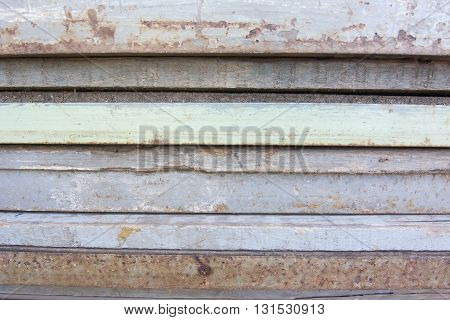 Side Of Steel Stack Layer Texture Background