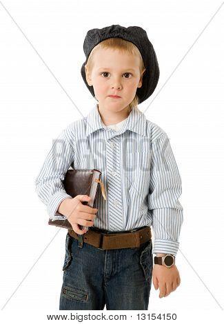 Little Serious Businessman
